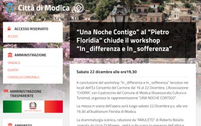 """Una Noche Contigo"" al ""Pietro Floridia"""